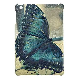 Blue Butterfly iPad Mini Cover