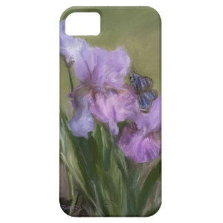 BLUE BUTTERFLY LANDING iPhone 5 COVERS