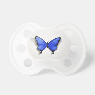 Blue Butterfly Pacifyer Pacifier