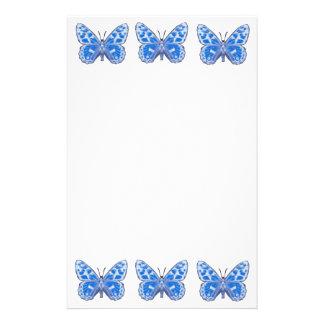 Blue Butterfly Stationery