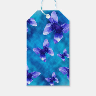Blue Butterfly Summer. Gift Tags