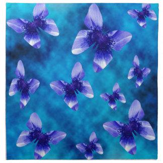 Blue Butterfly Summer. Napkin