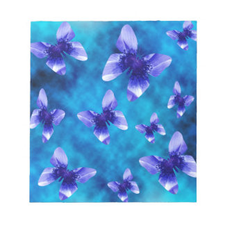 Blue Butterfly Summer. Notepad