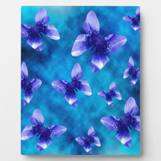 Blue Butterfly Summer. Plaque