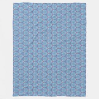 Blue Butterfly Wing Caleidoscopic Blanket