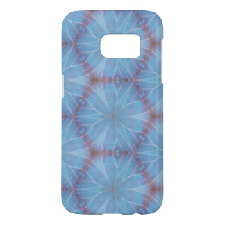 Blue Butterfly Wing Caleidoscopic Design Samsung Galaxy S7 Case