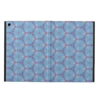 Blue Butterfly Wing Geometric Caleidoscopic Case