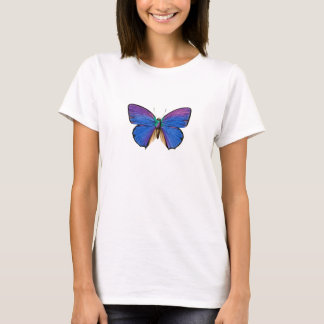 Blue Butterfly Women's Basic T-shirt