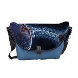 Blue C-spine Messenger Bag (Medium)