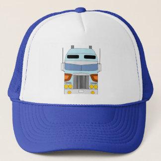 blue cabover hat