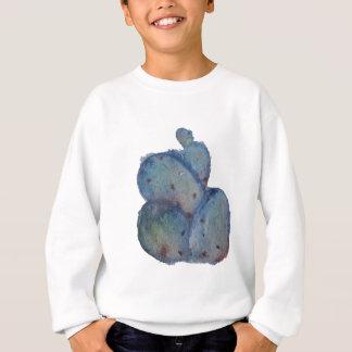 Blue cactus sweatshirt