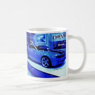 """Blue Camaro"" © 2009 S.J. Coffee Mug"