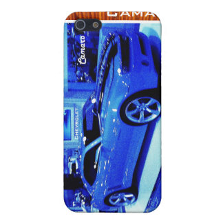 """Blue Camaro"" © 2009 S.J. iPhone 5/5S Cases"