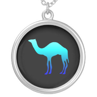 Blue Camel Silver Plated Necklace