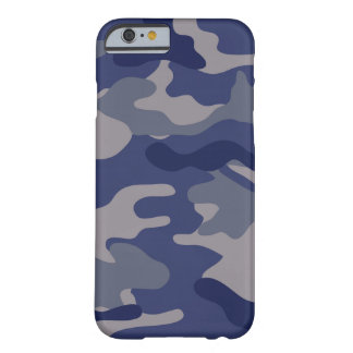 Blue Camo Barely There iPhone 6 Case