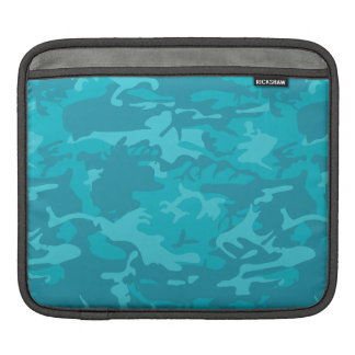 Blue Camo iPad Sleeve