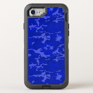 Blue Camo OtterBox Defender iPhone 7 Case