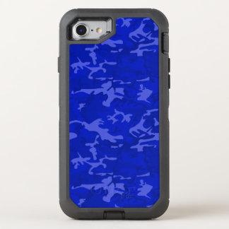 Blue Camo OtterBox Defender iPhone 8/7 Case