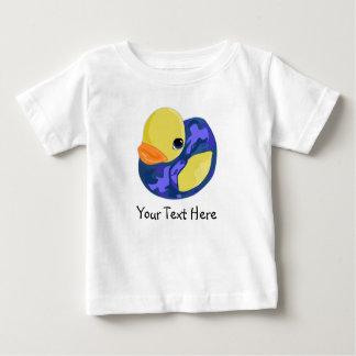 Blue Camo Rubber Ducky Baby T-Shirt