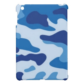 Blue Camouflage Case For The iPad Mini