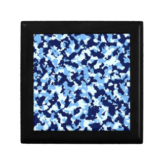 Blue Camouflage Gift Box