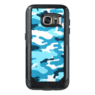 Blue Camouflage OtterBox Samsung Galaxy S7 Case