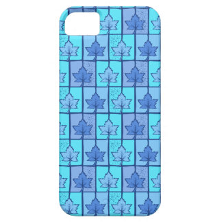 Blue Canadian iPhone 5 Case