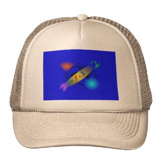 Blue Candy Mesh Hats