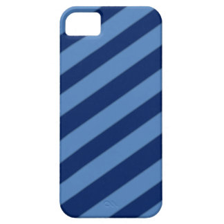 Blue Candy Stripe Phone Case iPhone 5 Covers