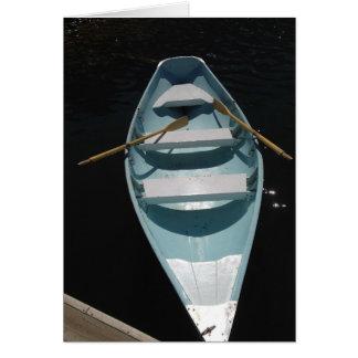 Blue Canoe Card