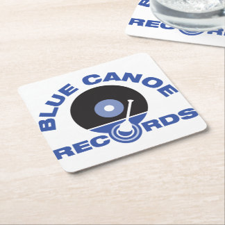 Blue Canoe Records Coasters