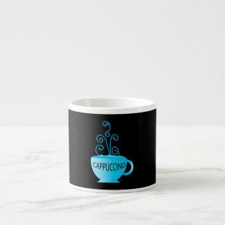 Blue Cappuccino Delight Espresso Cup