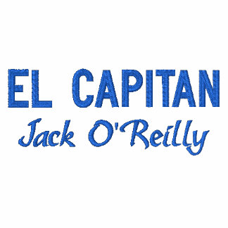 Blue Captain s Embroidered Shirt
