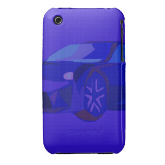 Blue Car iPhone 3 Covers