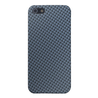 Blue Carbon Fiber iphone case iPhone 5 Cover