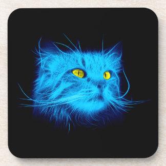 Blue Cat Beverage Coaster