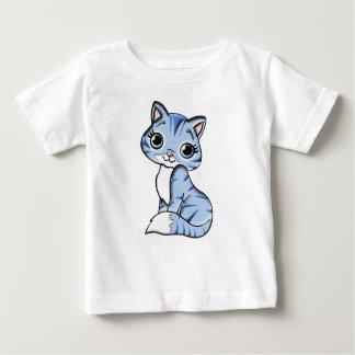 Blue Cat Cartoon Baby T-Shirt