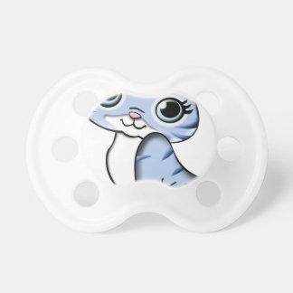 Blue Cat Cartoon Pacifier