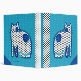 'blue cat' digital painting binder