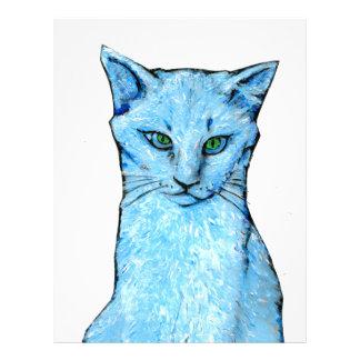 Blue Cat Letterhead