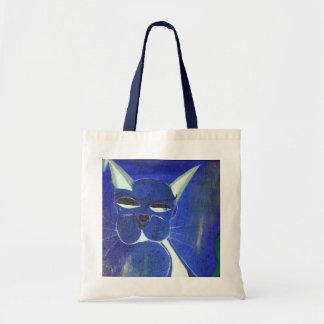 Blue Cat With Attitude