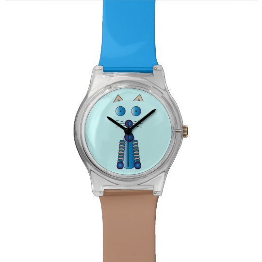 Blue CAT Wrist Watches