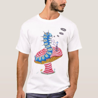 Blue Caterpillar T-Shirt