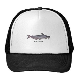 Blue Catfish Logo Trucker Hat