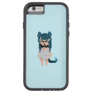 Blue Catgirl Iphone 6/6s phone case durable