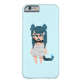 Blue Catgirl iPhone case 6/6s simple