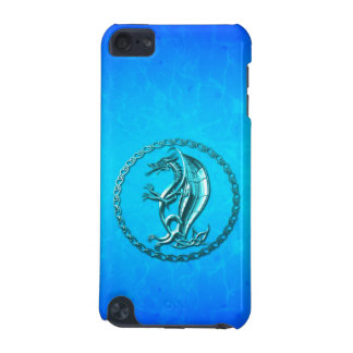Blue Celtic Dragon iPod Touch 5G Cover