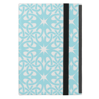 Blue Celtic Knot CHOOSE YOUR OWN BACKGROUND iPad Mini Cover