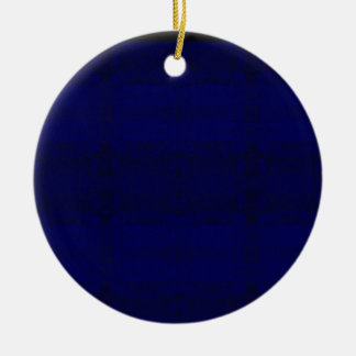 blue ceramic ornament
