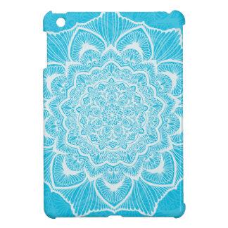 Blue Chakra Blossom, boho, new age, spiritual Case For The iPad Mini